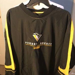 1990's Pittsburgh Penguins windbreaker